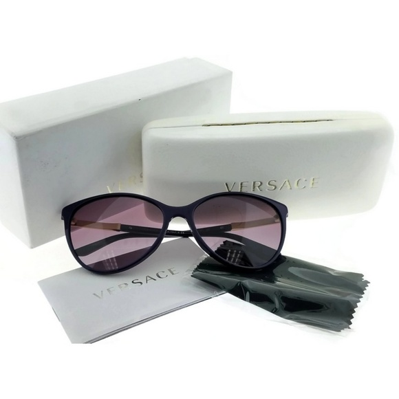 73c14c558263 VE4260-50648H Women s Purple Frame Sunglasses. NWT. VERSACE